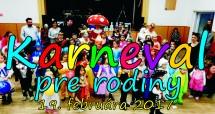 Karneval pre rodiny