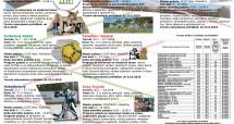 LETNÉ (tábory) POBYTY  a ponuka krúžkov  na šk. rok 2018/2019