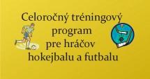 Celoročný tréningový program pre hráčov hokejbalu a futbalu